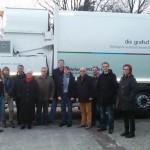 Der CDU-Verband mit Gästen auf dem Betriebshof